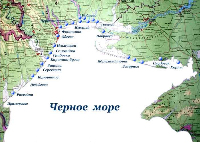 затока коблво карта 2
